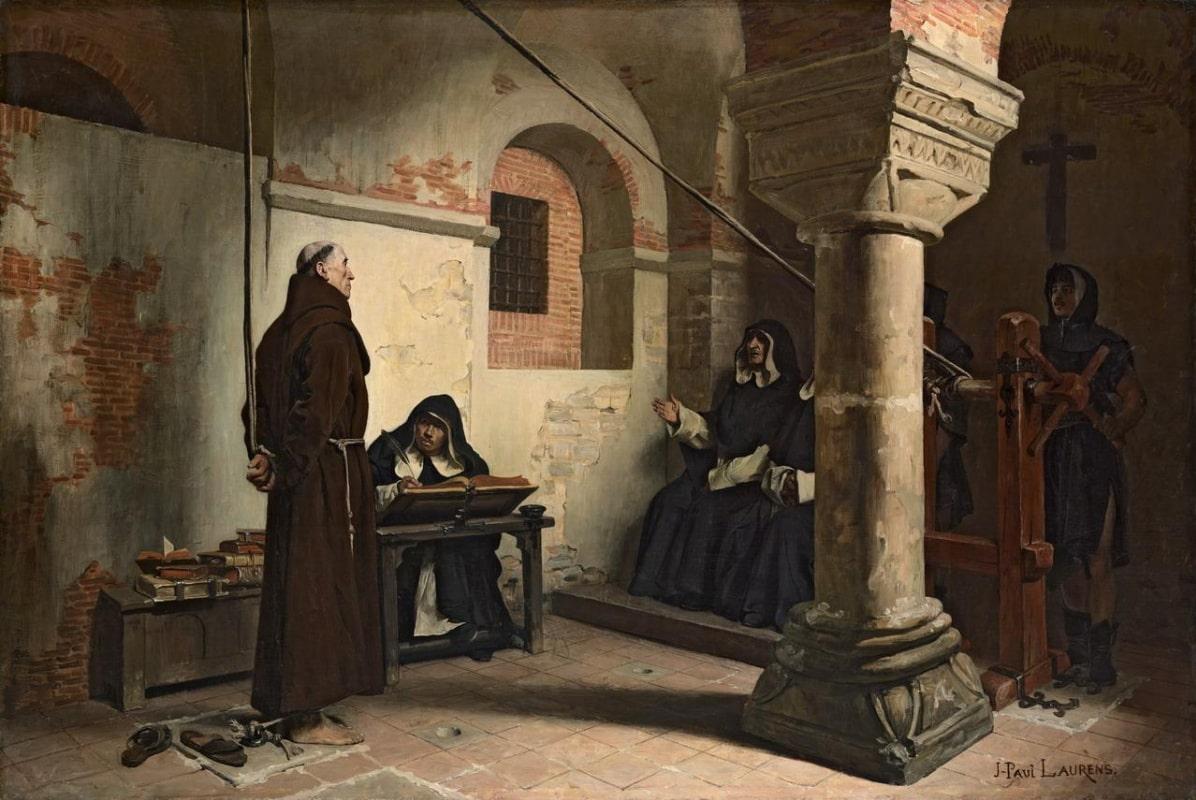 Инквизиция пришла на белорусские земли в конце 16 века