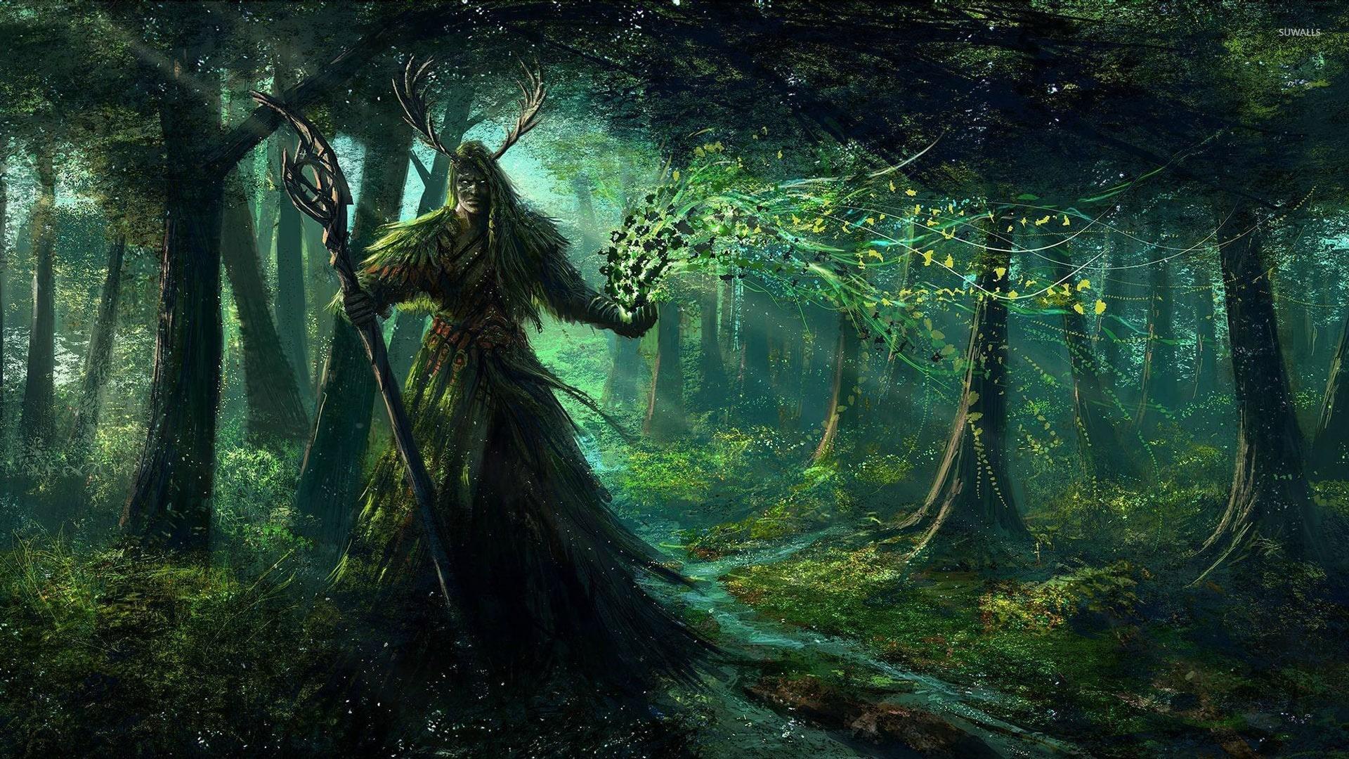 Лесную нечисть селяне сжигали и без инквизиции