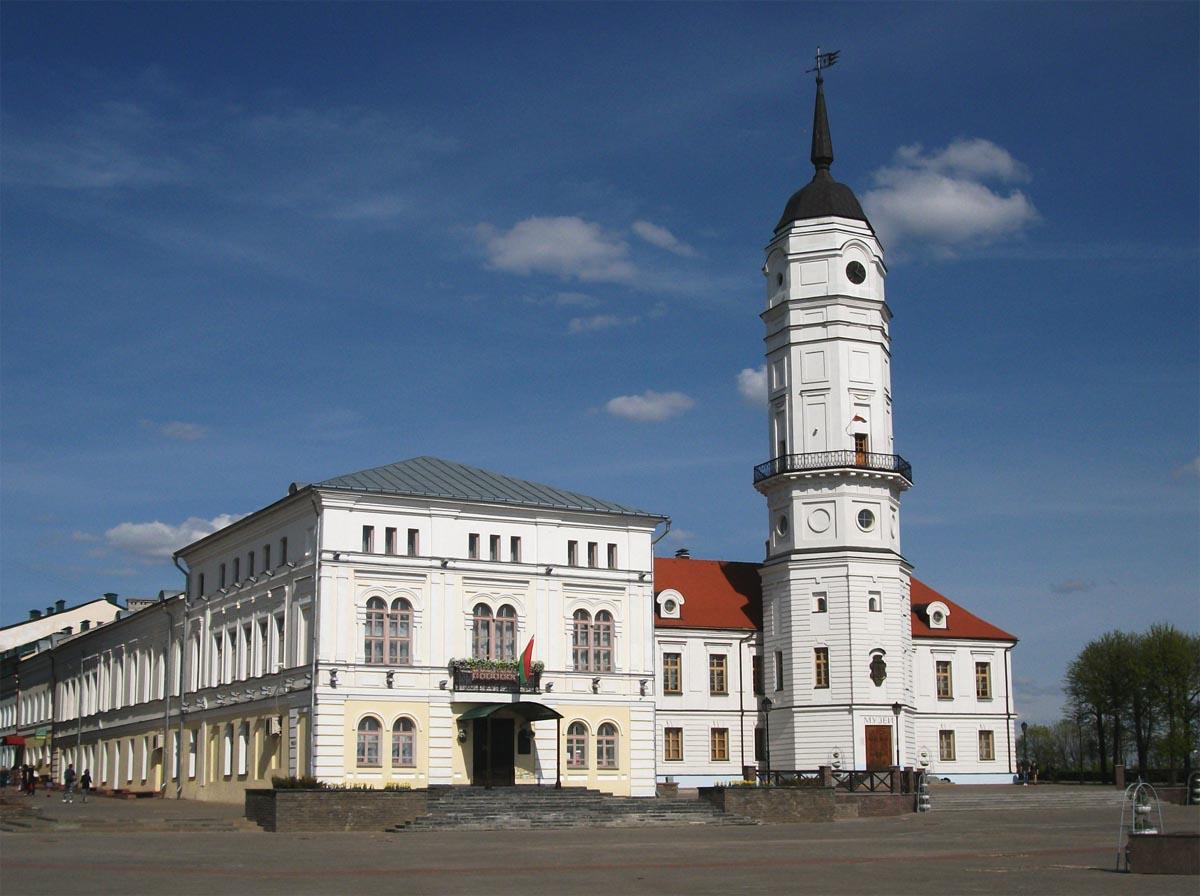 Могилевская ратуша здесь начинался бунт и судили заговорщиков