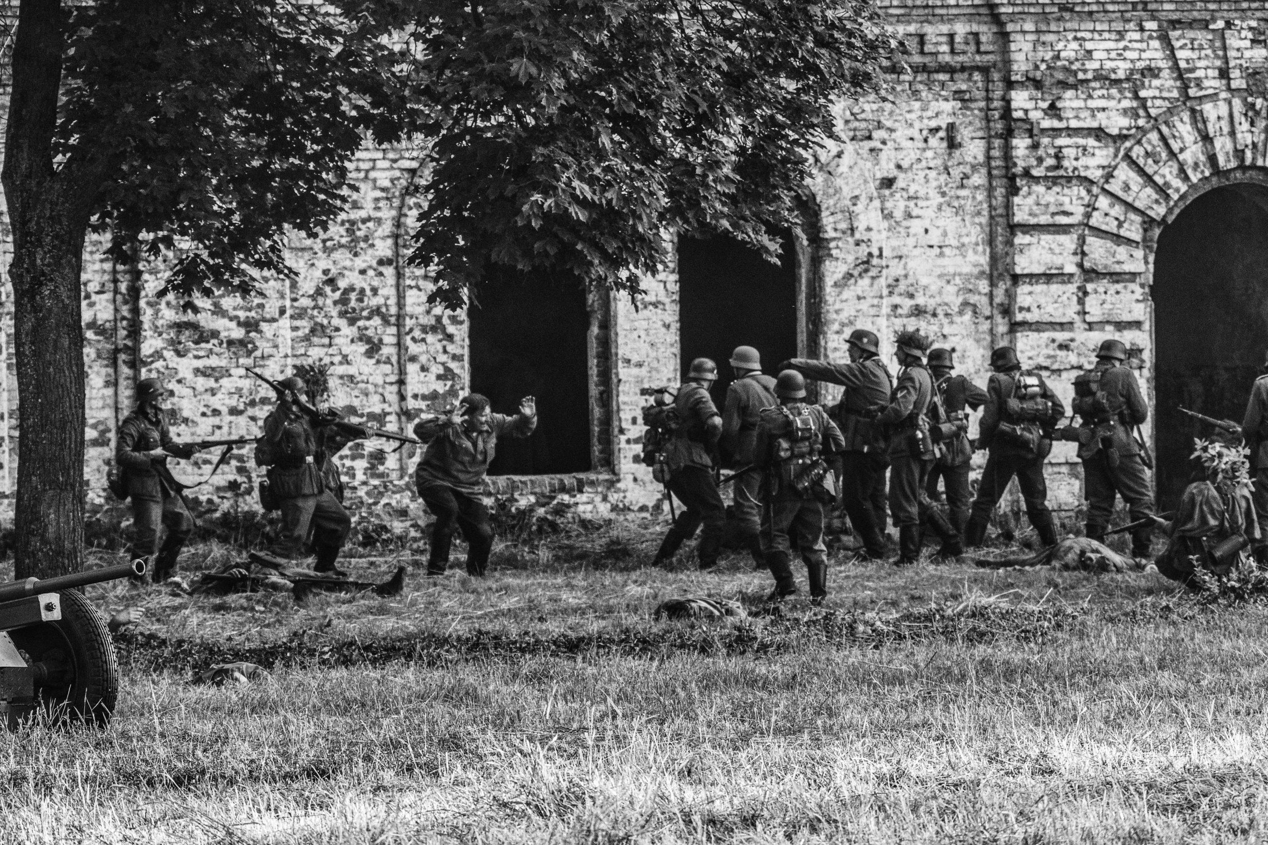 Немцы в крепости