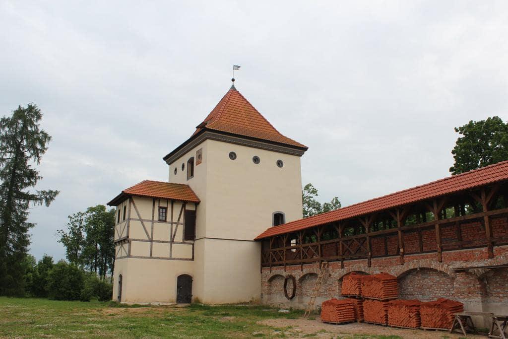 Реконструкция замка в Любче