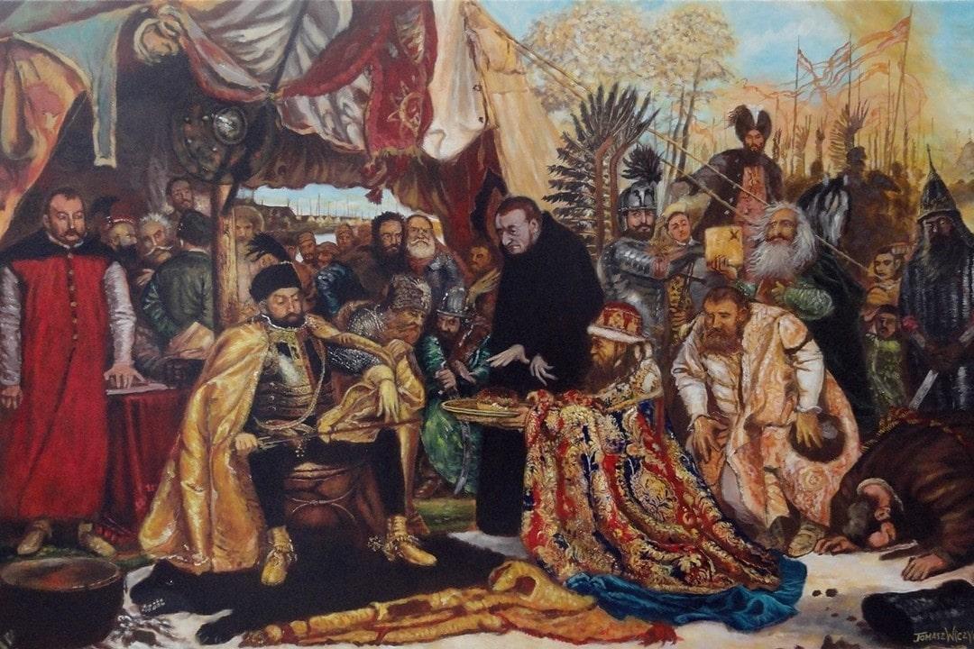 Ян Кишка в молодости участвовал в военных походах на Московию