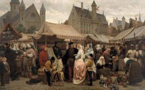 Ярмарки в средневековом Могилеве привлекали купцов со всего мира