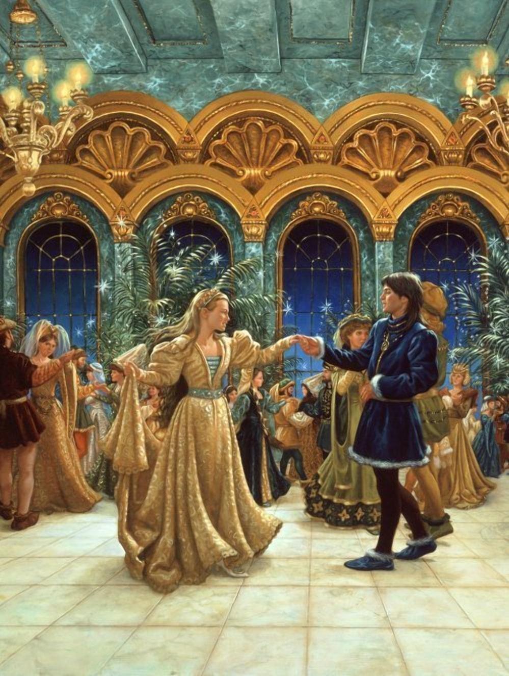 В Средневековье на землях Беларуси Новый Год отмечался балами и фейерверками