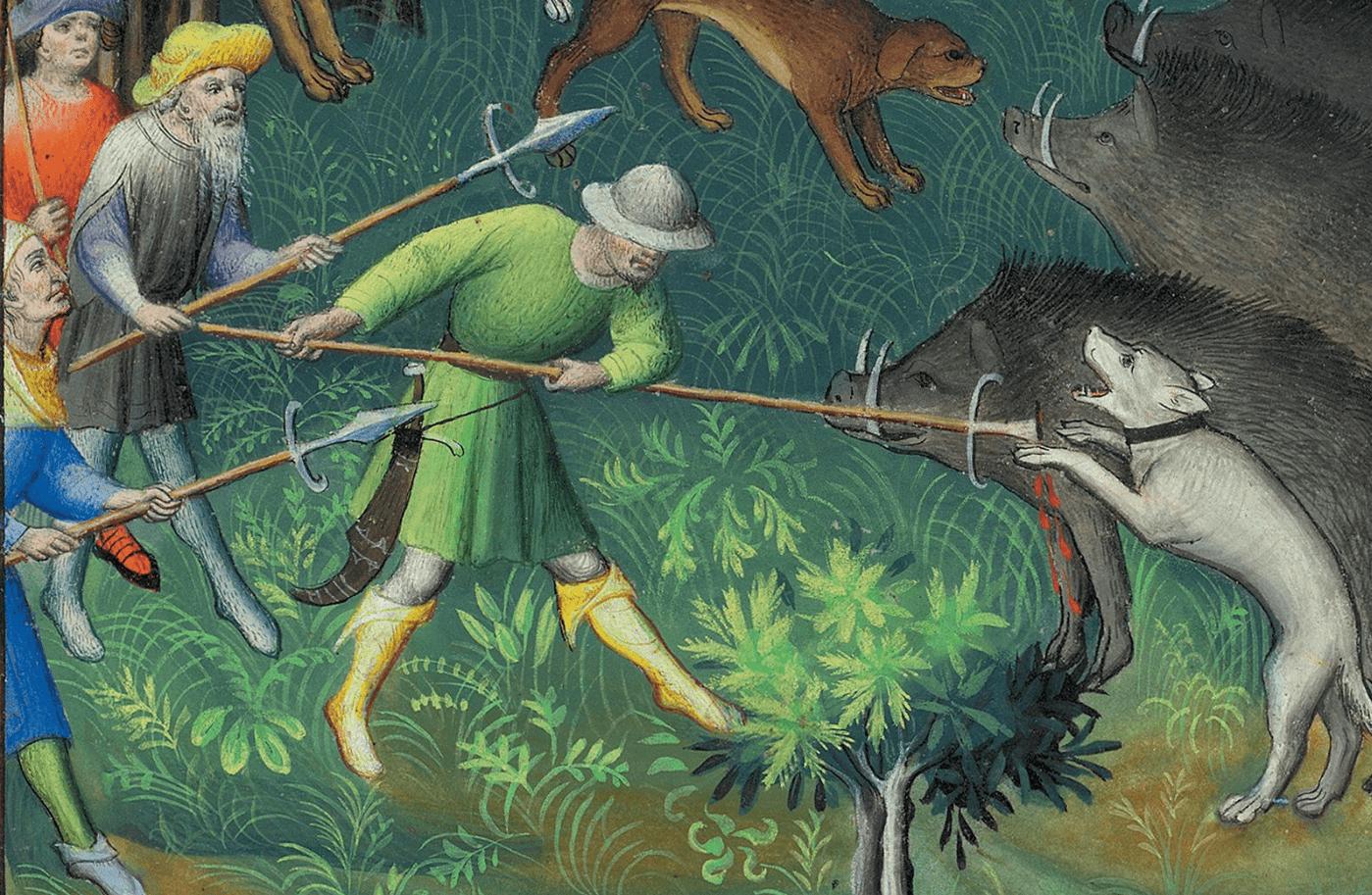 Дичь была основой новогоднего стола в средние века