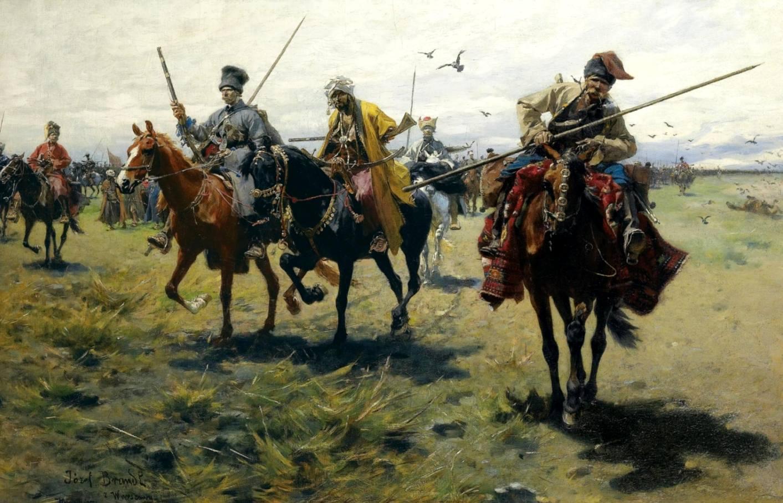 Запорожские казаки не раз пытались захватить Любчу