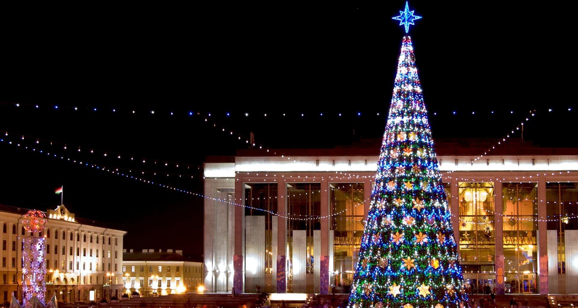 Зимние праздники в Беларуси