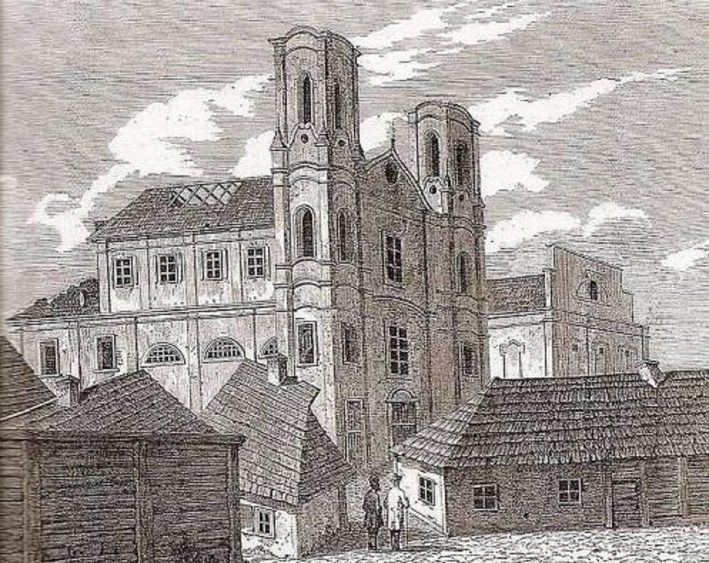 Монастырь доминиканцев находился в Любче до середины 17 века