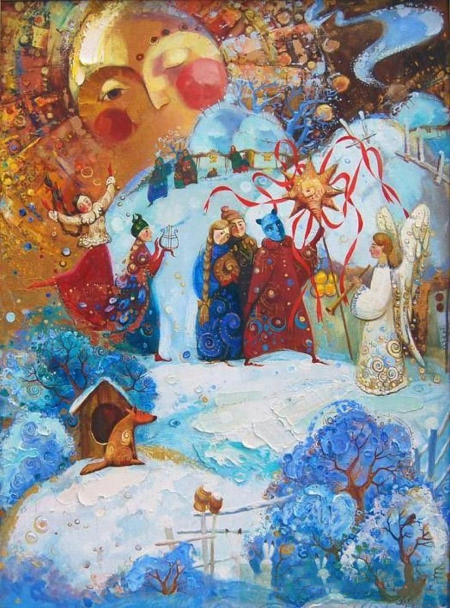 Рождественские Коляды в Беларуси
