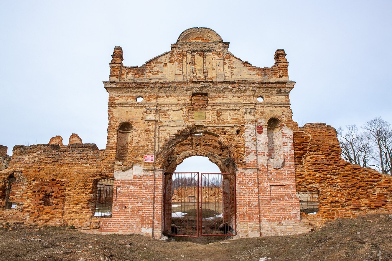 Руины катезианского монастыря в Березе - место захоронения человека привезшего в ВКЛ картофель