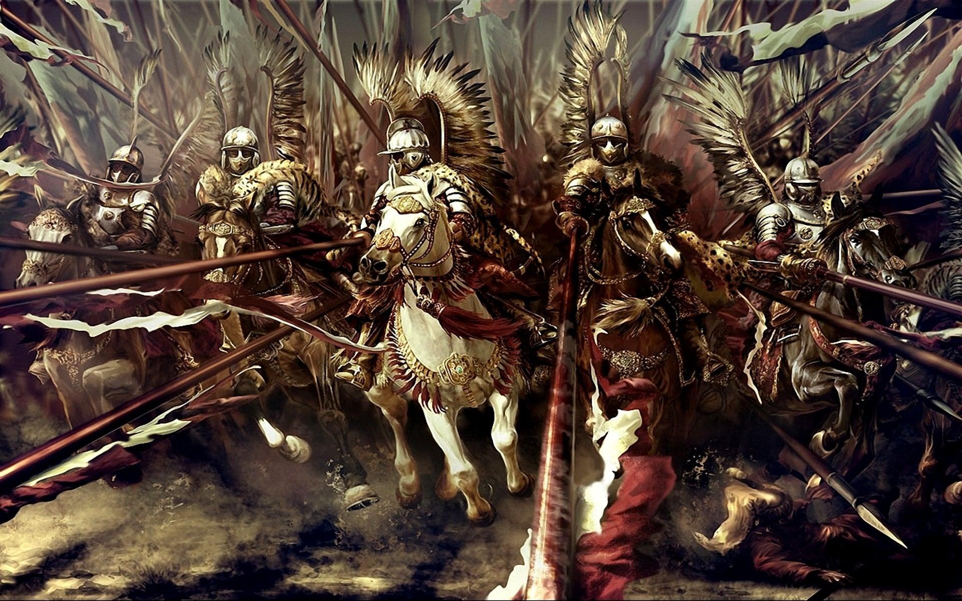 Тяжелая кавалерия ВКЛ смогла защитить Любчу