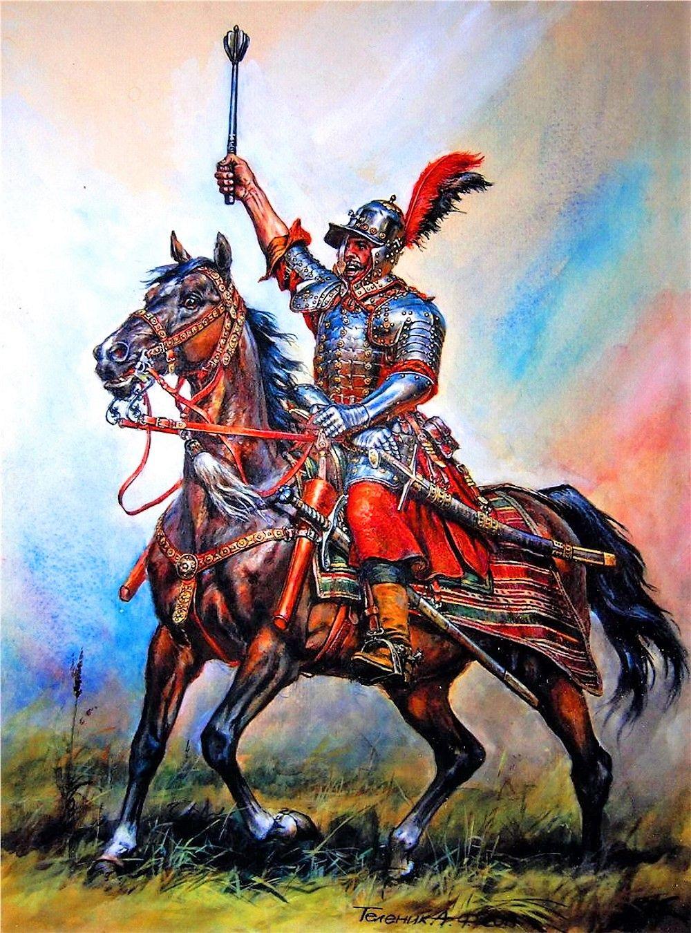 Юрий Хрептович командовал собственной кавалерийской хоругвью