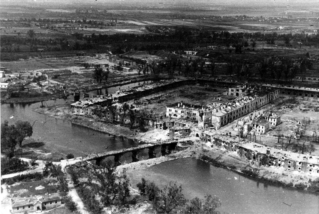 Брестская крепость в 1941 году район Тереспольских ворот