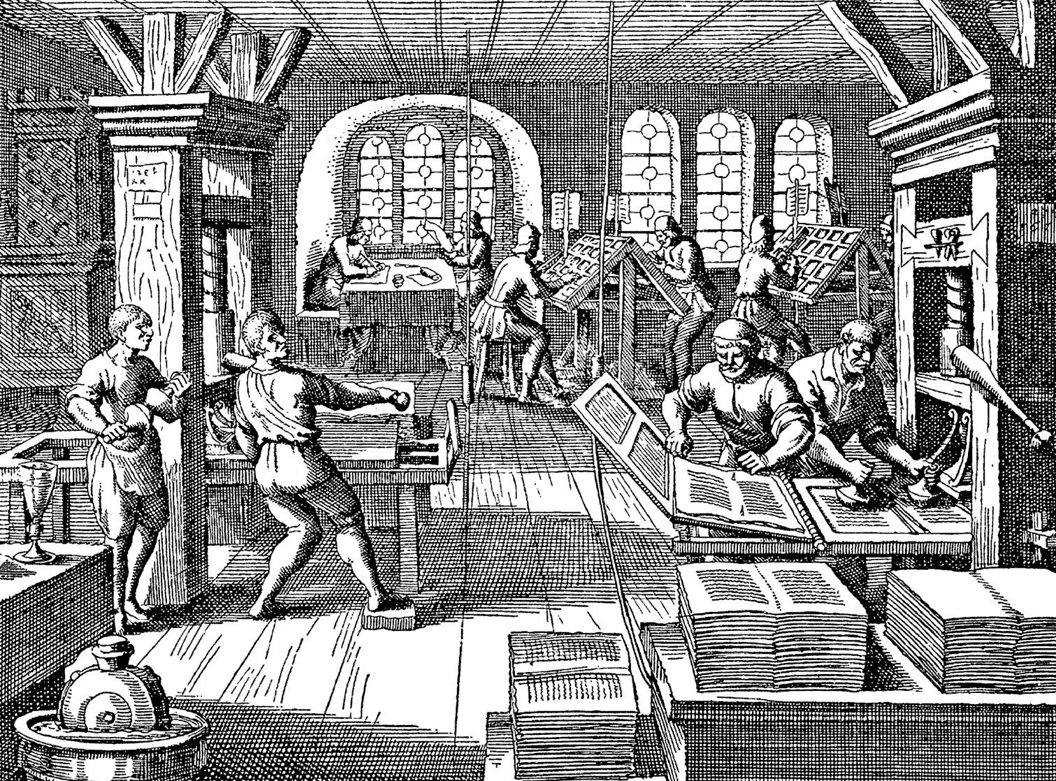 Брестская типография работала уже в 1553 году