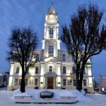 Вход в Витебский краеведческий музей
