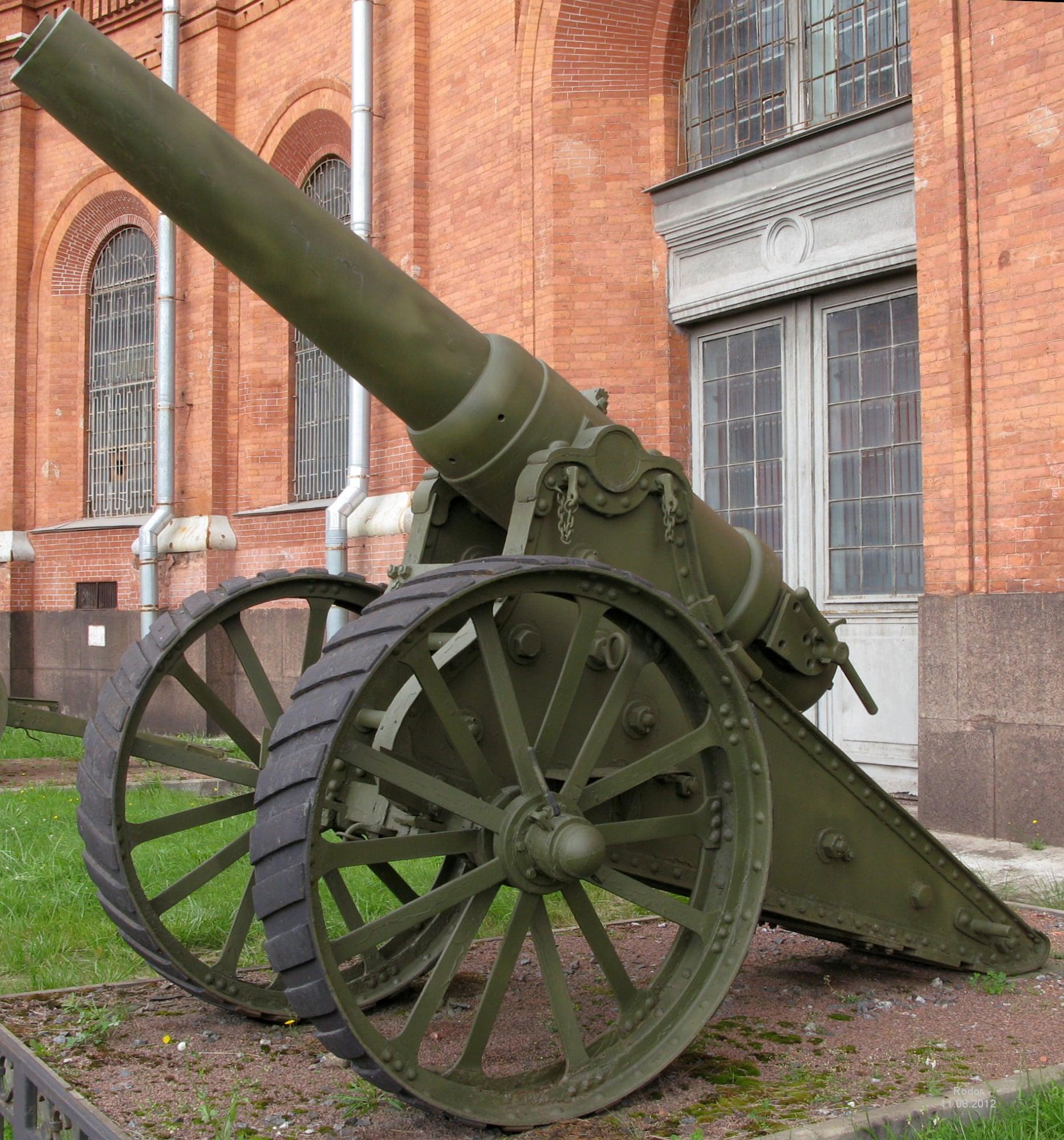 В Гродненской крепости было 700 артиллерийских орудий