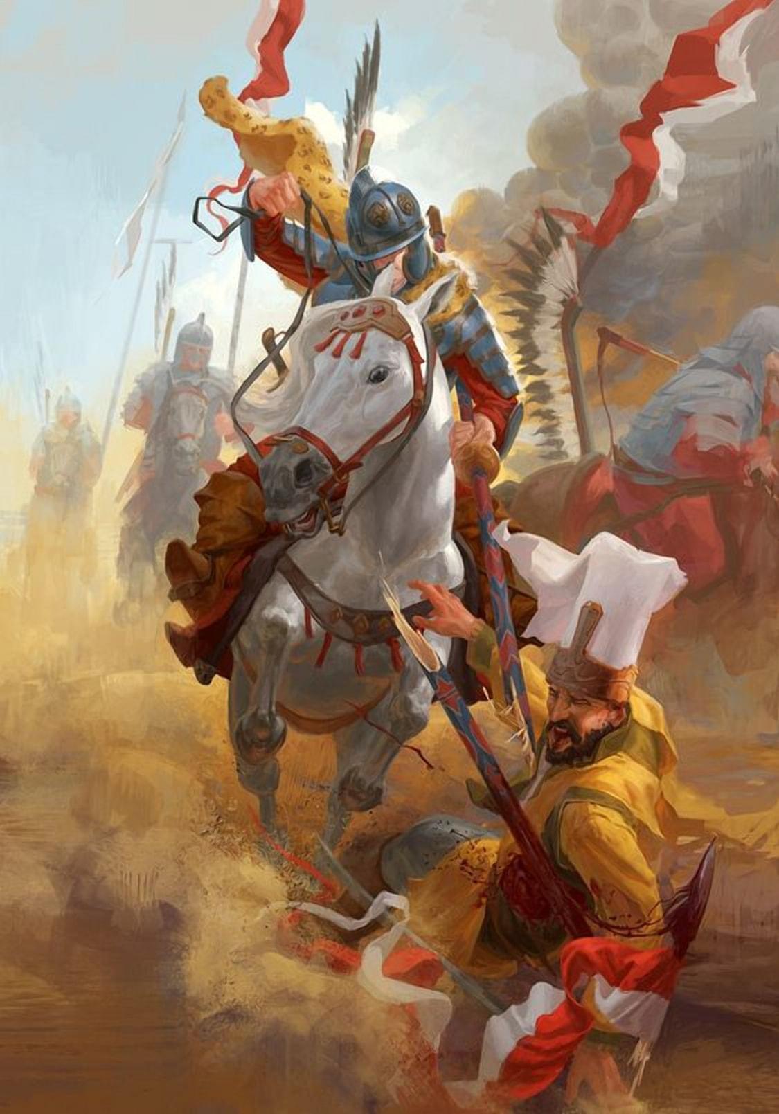 В битве при Хотине было остановлено огромное осман6ское войско