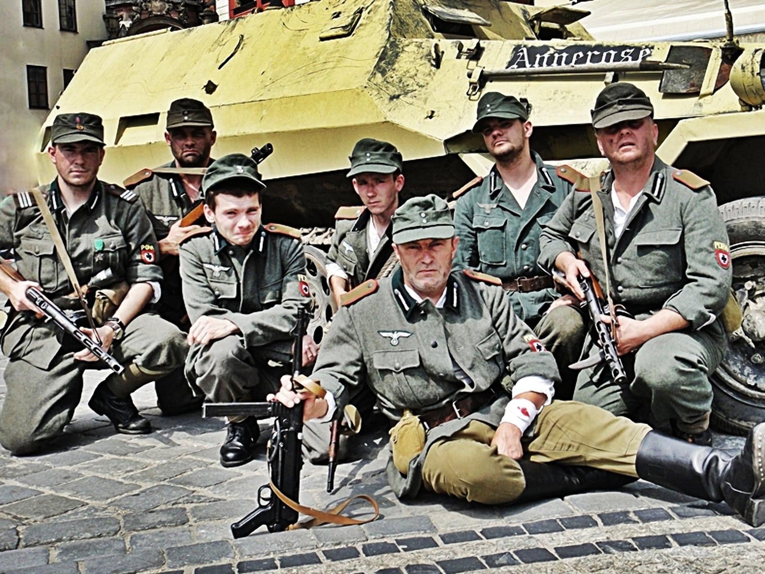 Госпиталь и детский донорский пункт охраняли каратели из РОНА