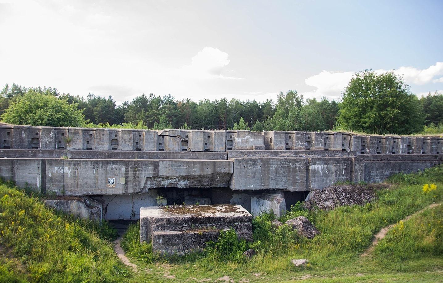 Гродненская крепость 1 форт