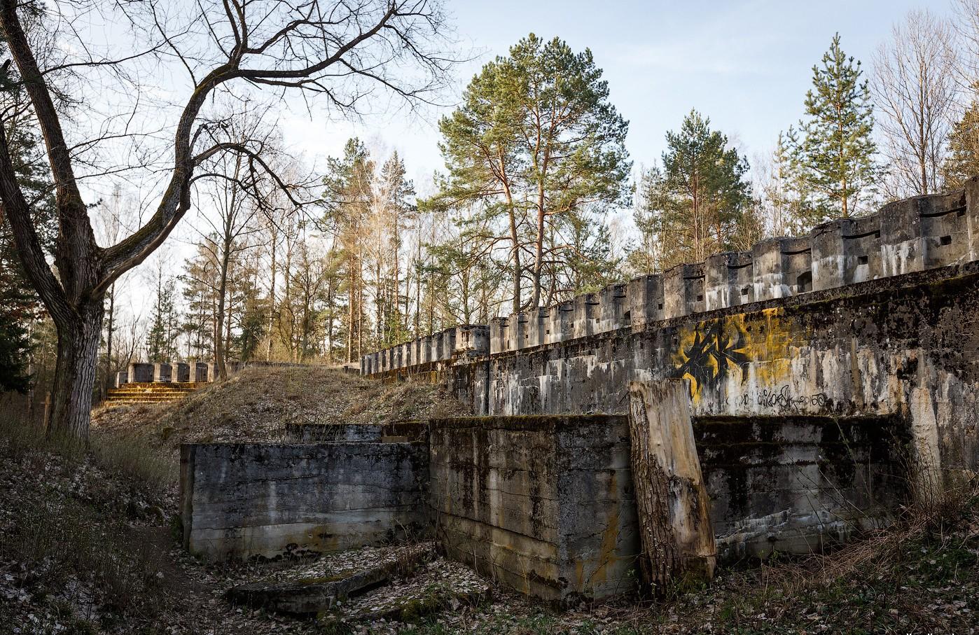 Гродненская крепость 4 форт
