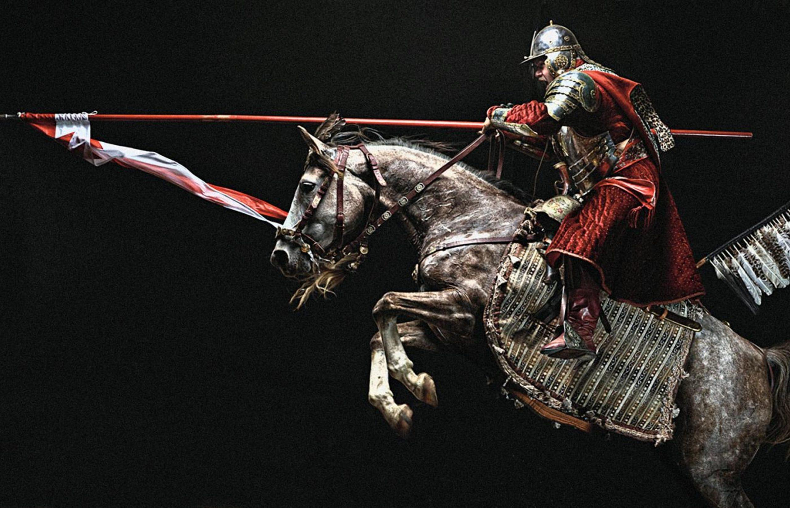 Гусары ВКЛ рассекали вражеское войско