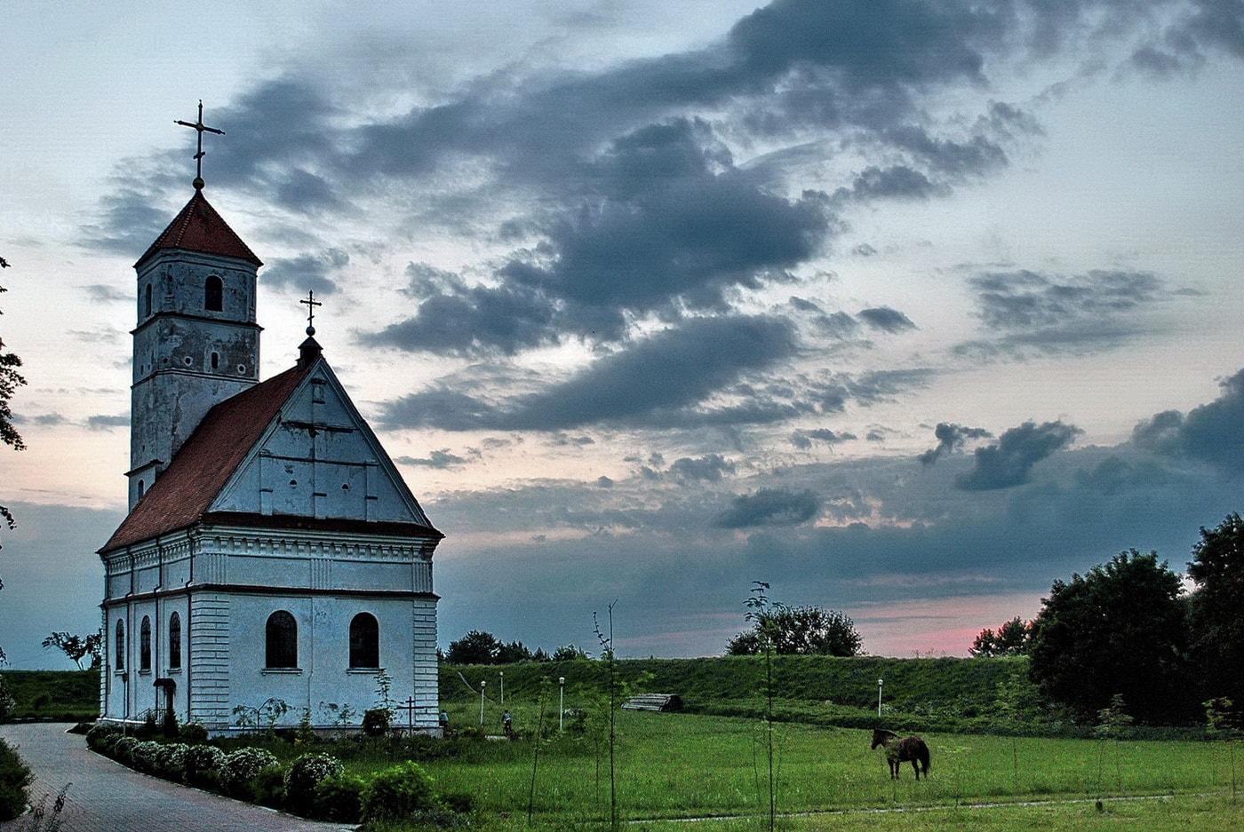 Кальвинистский храм 16 века в Заславле