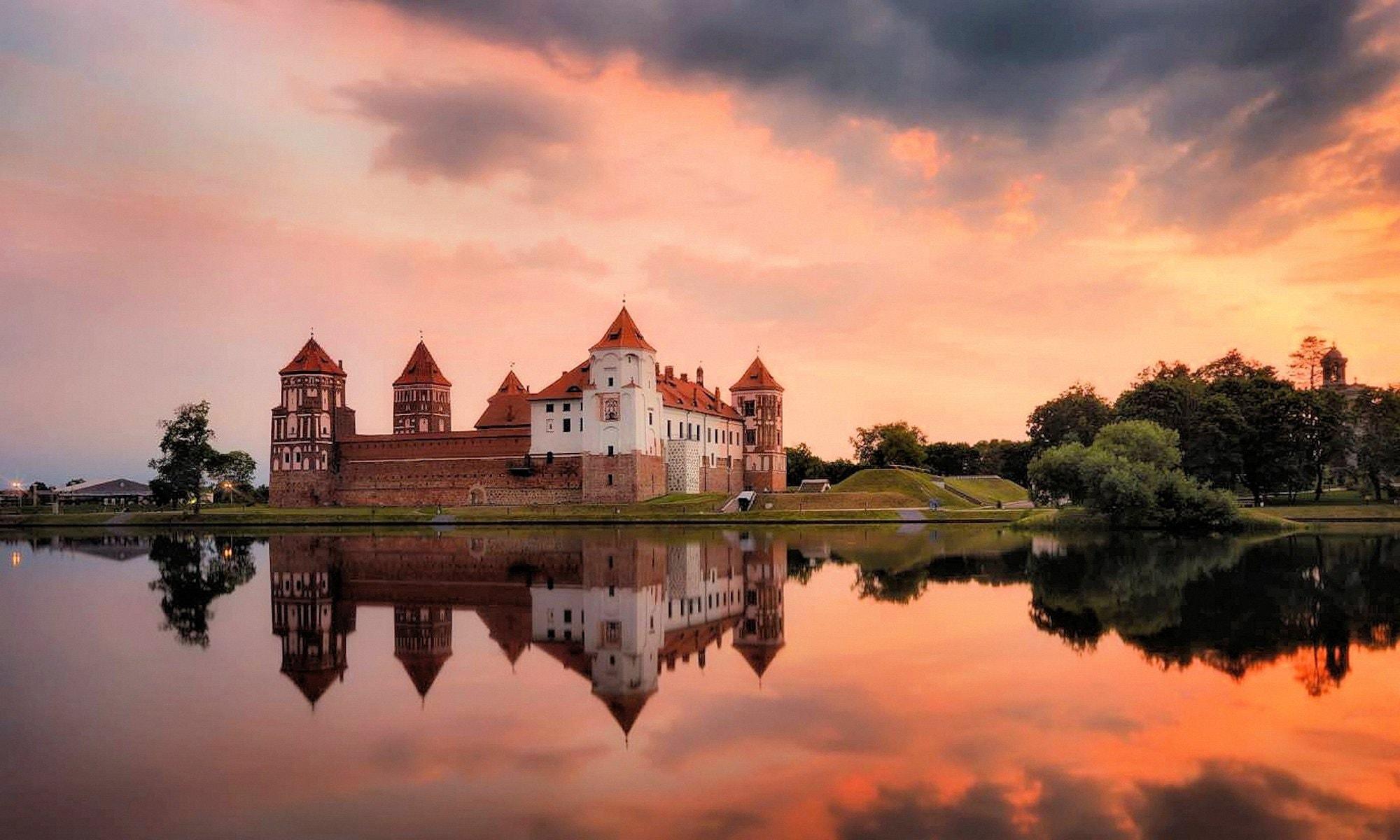 Классическая готика в центре Беларуси