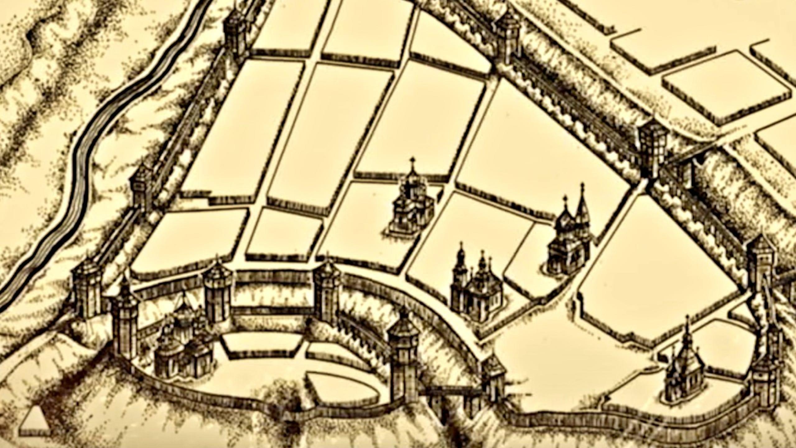 Слуцк в 11 веке