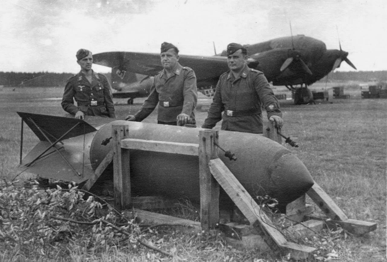 Супербомба сброшенная на Восточный Форт