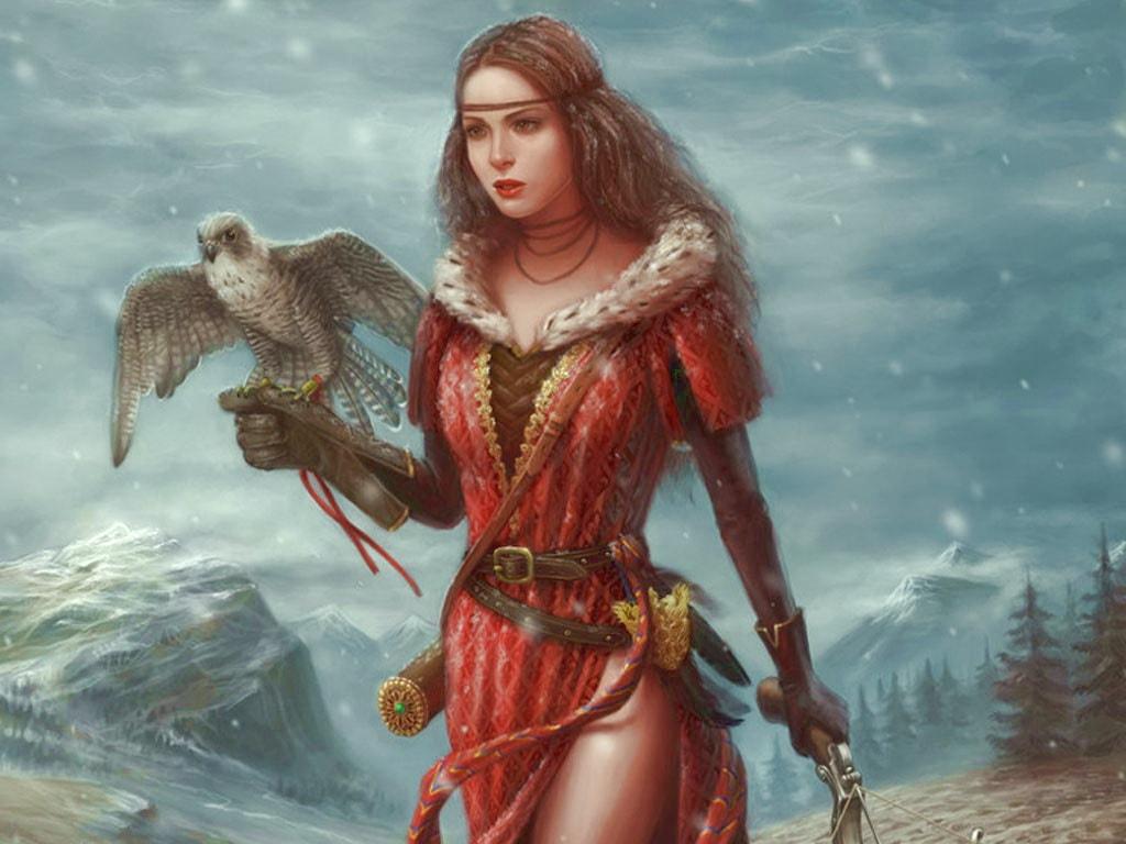 Юная княжна Слуцкая была хорошей охотницей