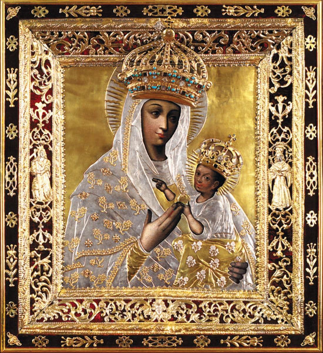 Будславская Божья Матерь - подарок от Папы Римского