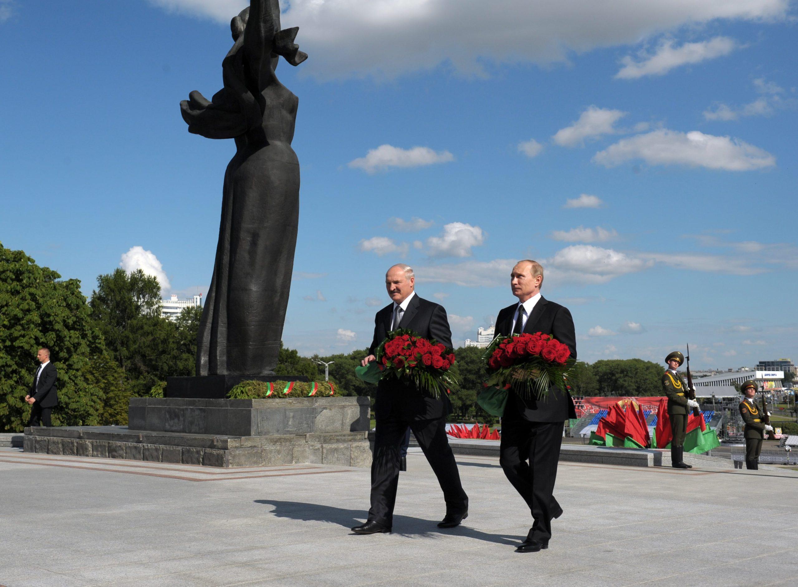 В Беларуси действуют десятки мемориальных комплексов посвященных войне