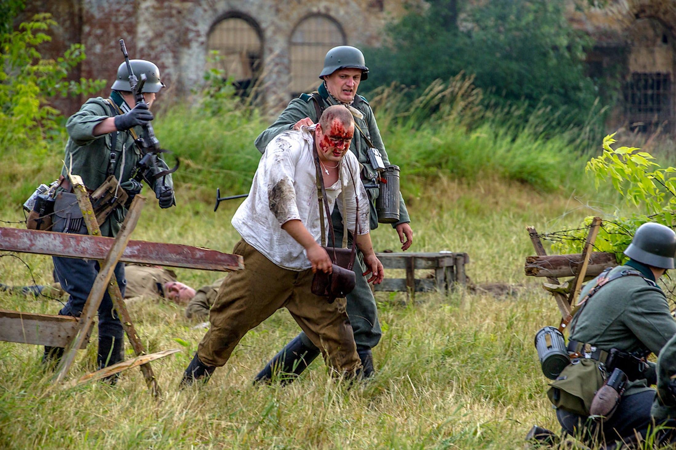 В крепости было снято несколько фильмов