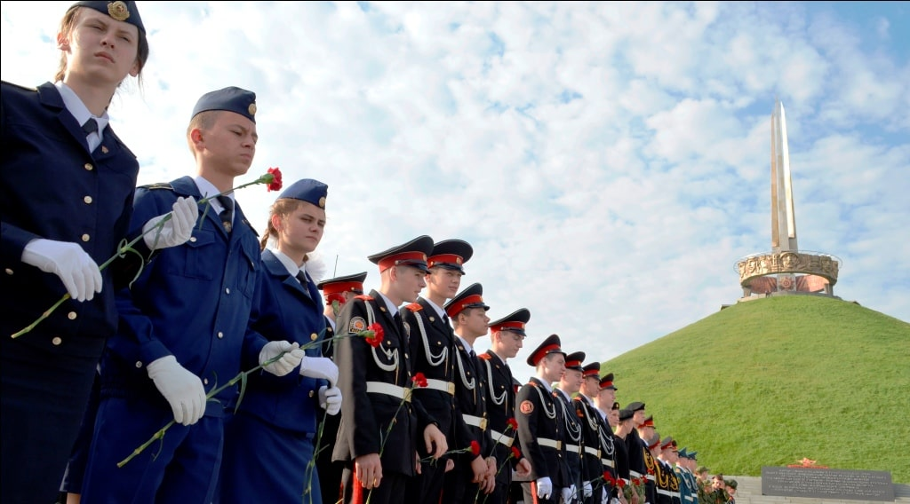 Кадетские классы в патриотических турах по Беларуси