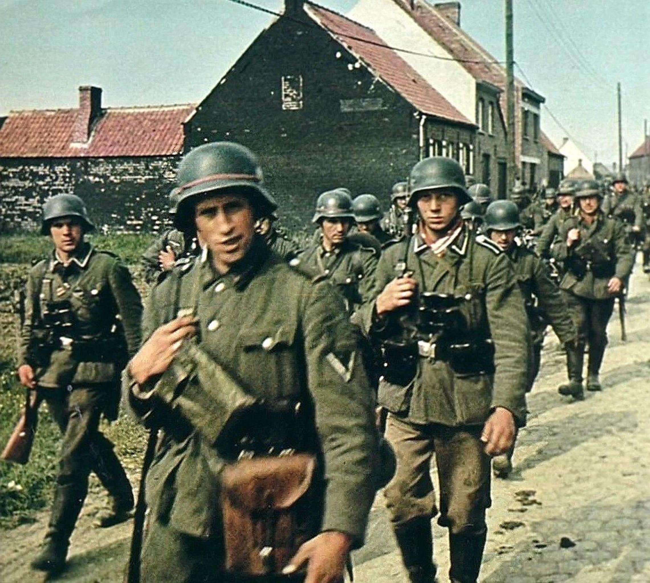 Немцы вошли в город уже к 6.30 утра
