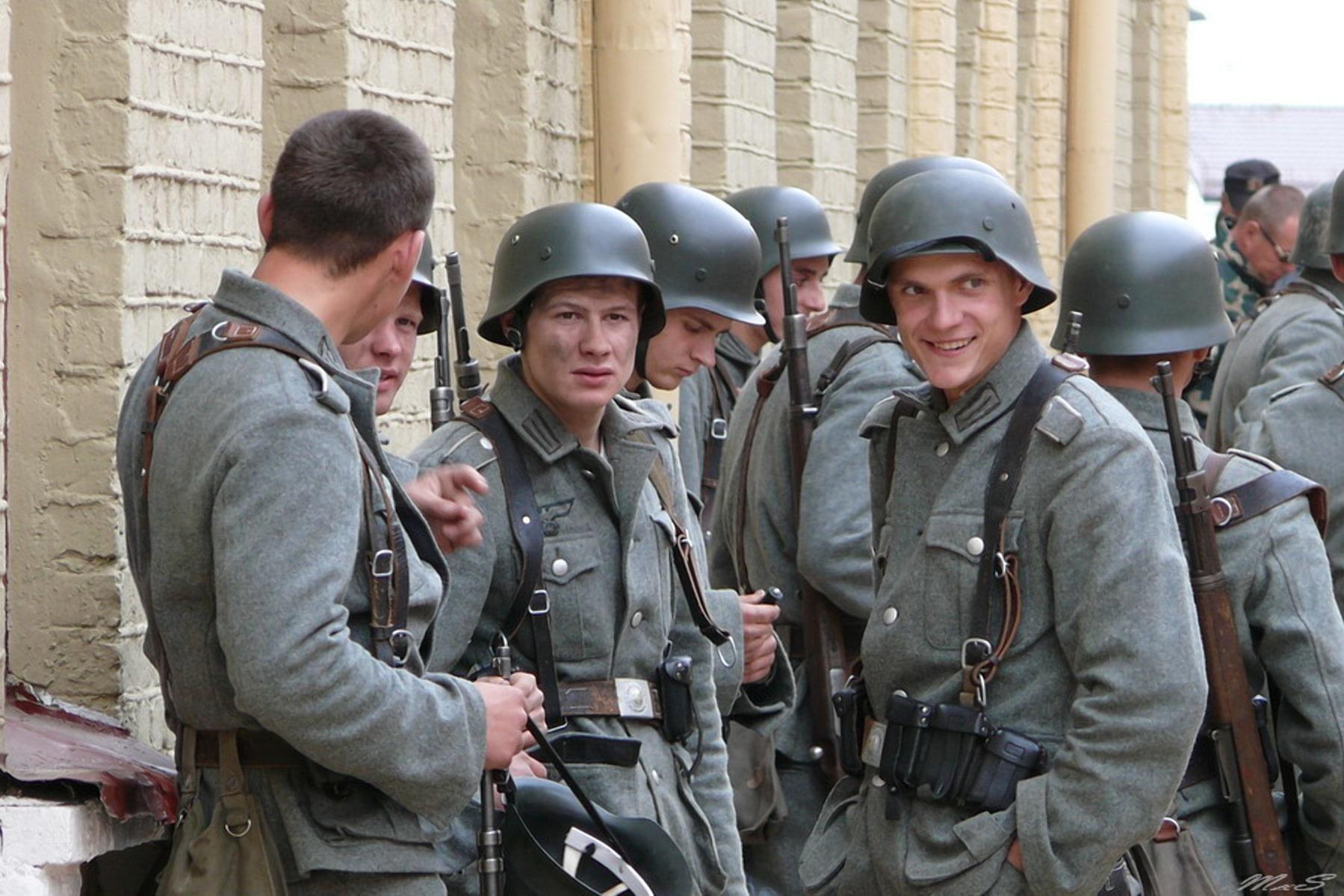 Немцы к 14.00 чувствали себя хозяевами города