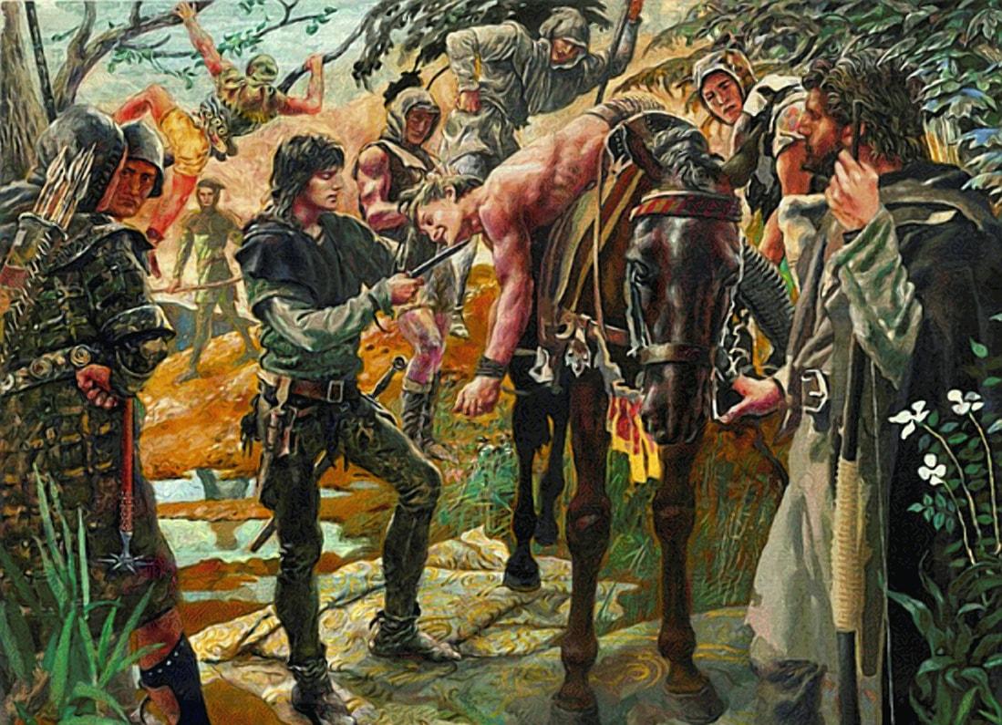Разбойники из местной пущи положили начало монастырю