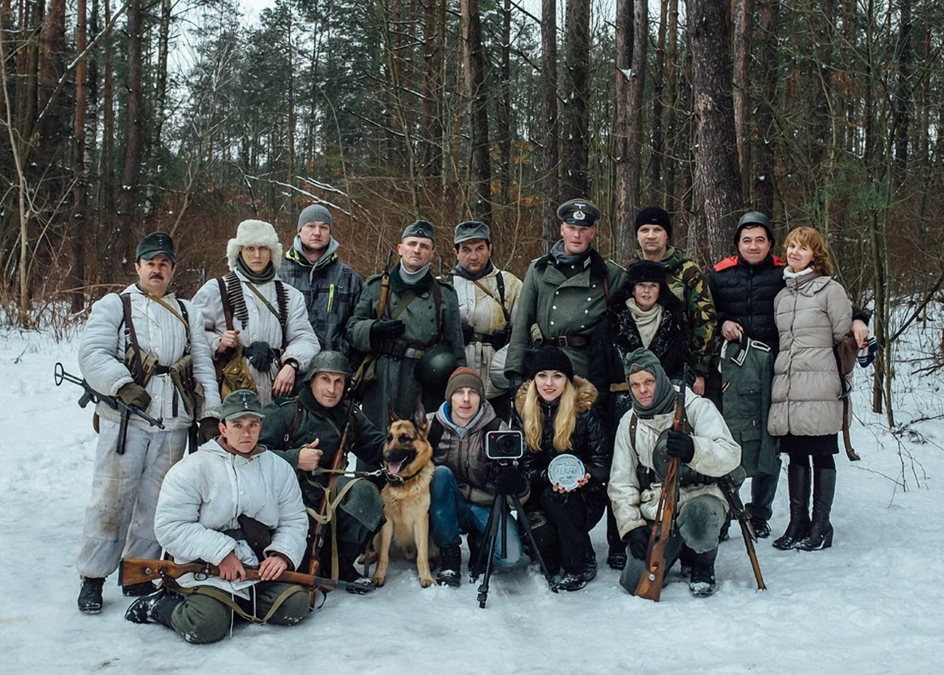 Самый новый белорусский военный фильм