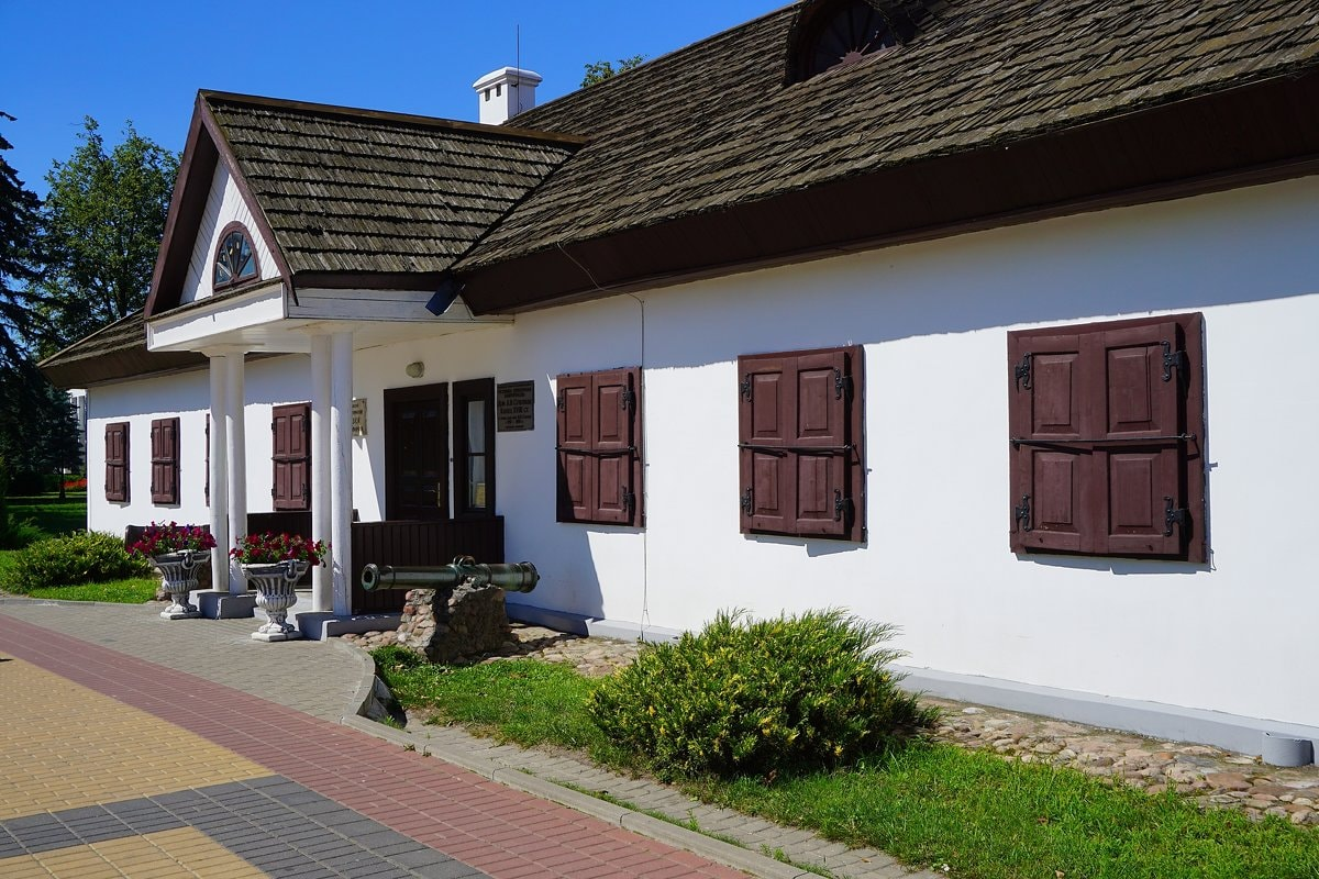 Усадебный дом Суворова в Кобрине