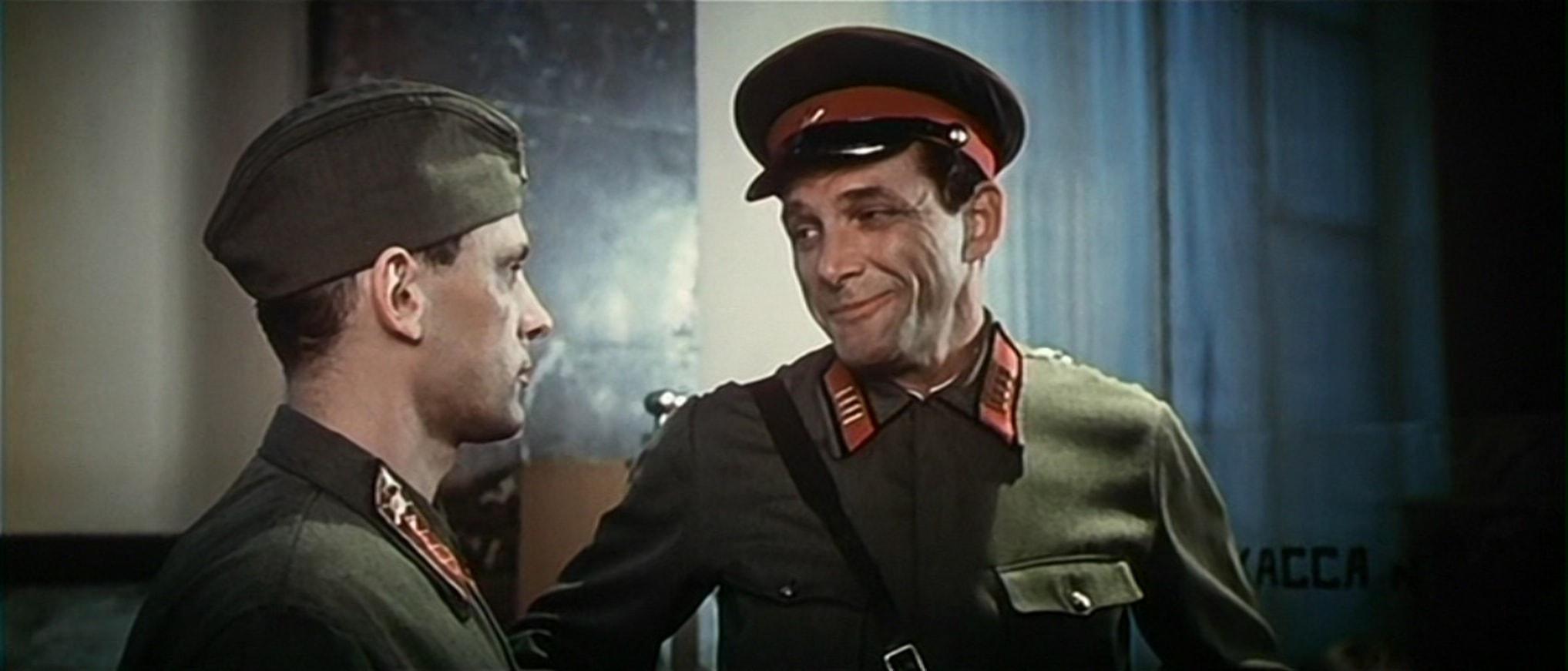 Э. Виторган в роли полкового комиссара Фомина
