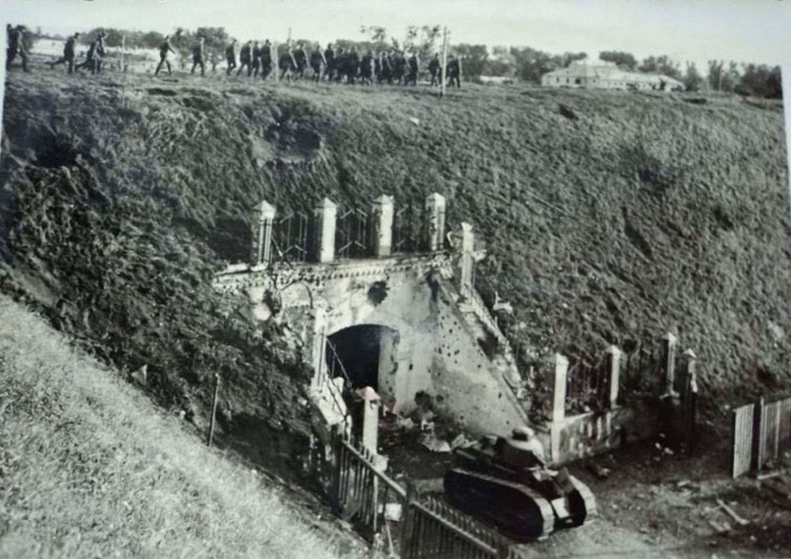 Польские устаревшие танки были пригодны лишь как помеха для проезда