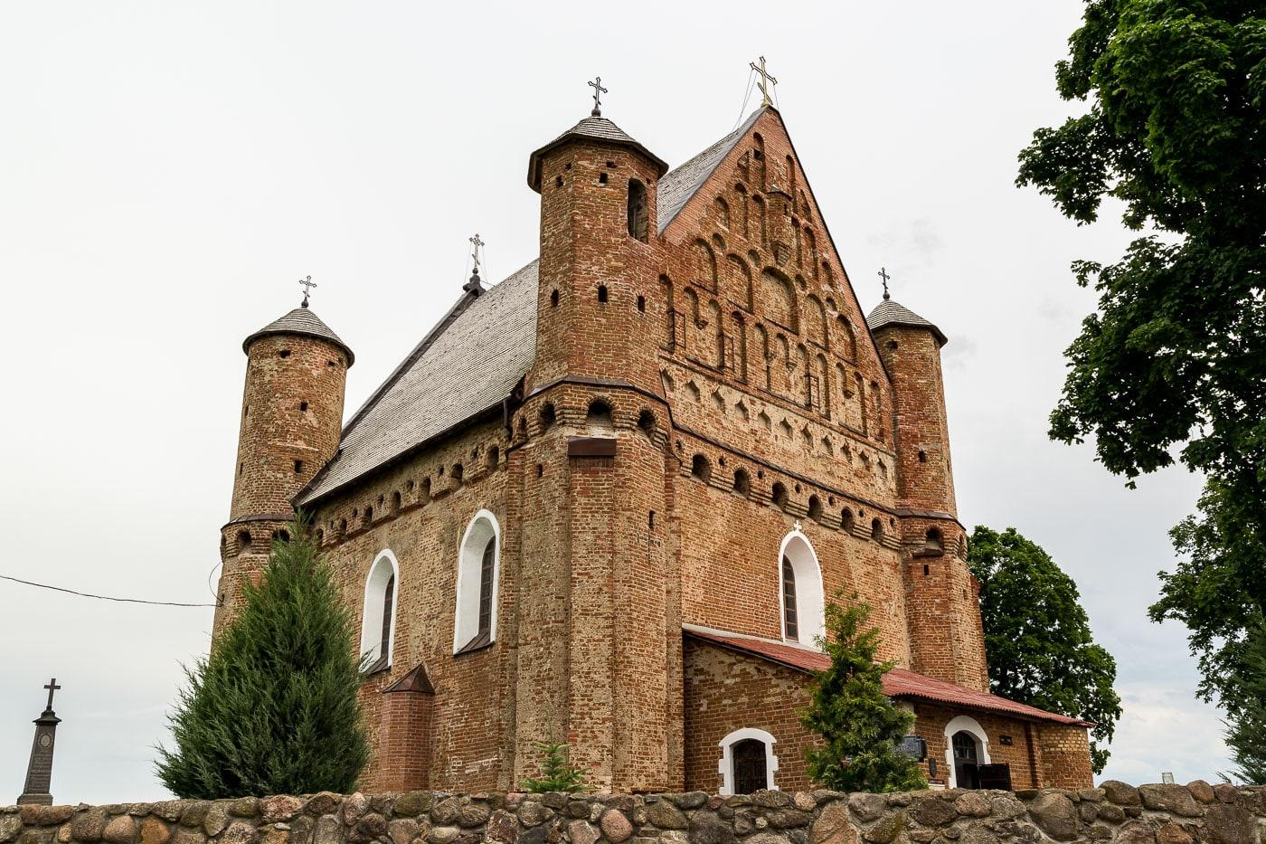 Храм в Сынковичах меняет всю классическую историю