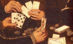 Карточные игры бич вельмож времен Екатерины