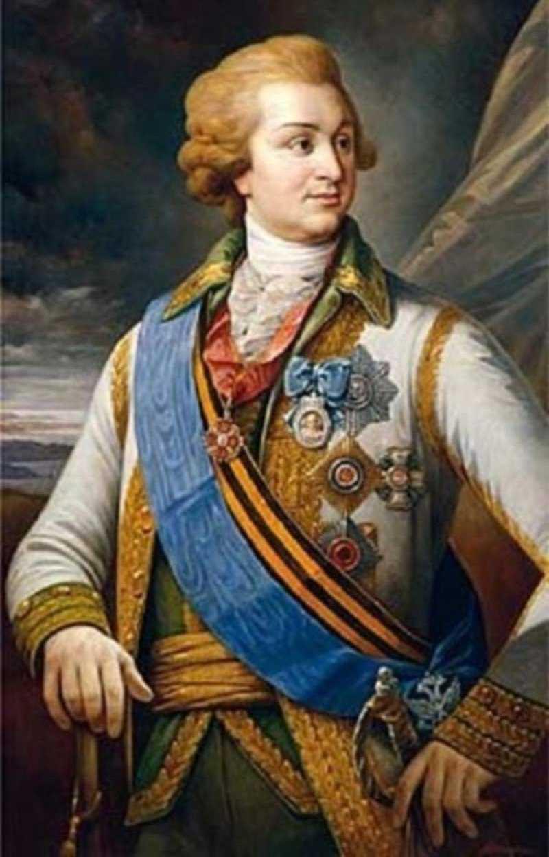Кричев был подарен князю Потемкину