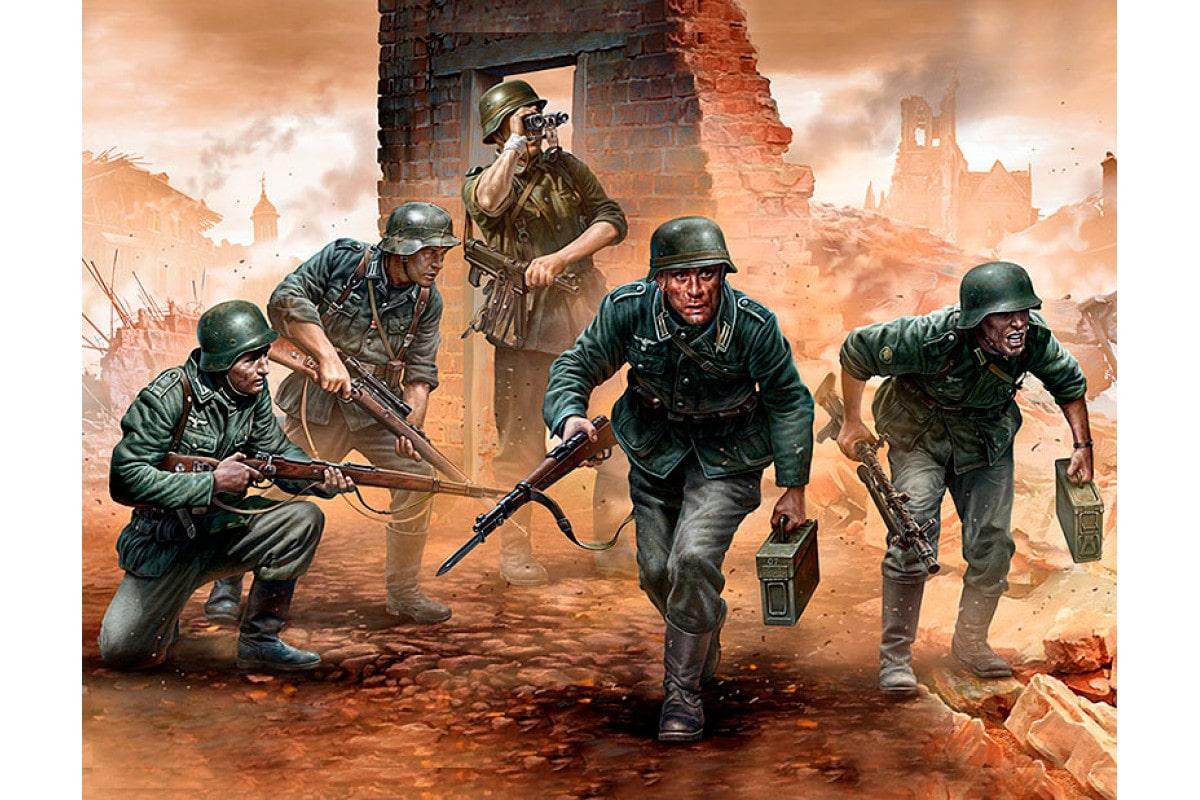 Только к 11 утра немцы смогли приблизиться к вокзалу
