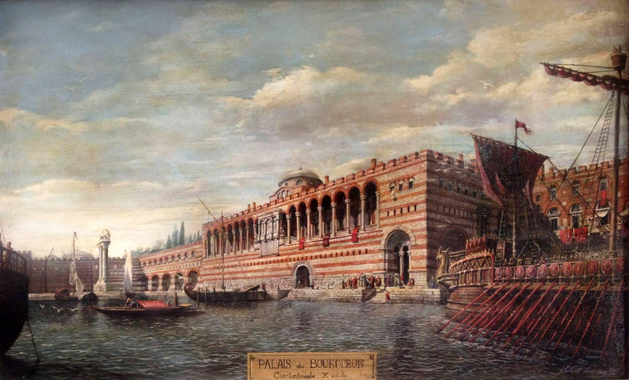 Византиский император принял полоцких князей в своем дворце
