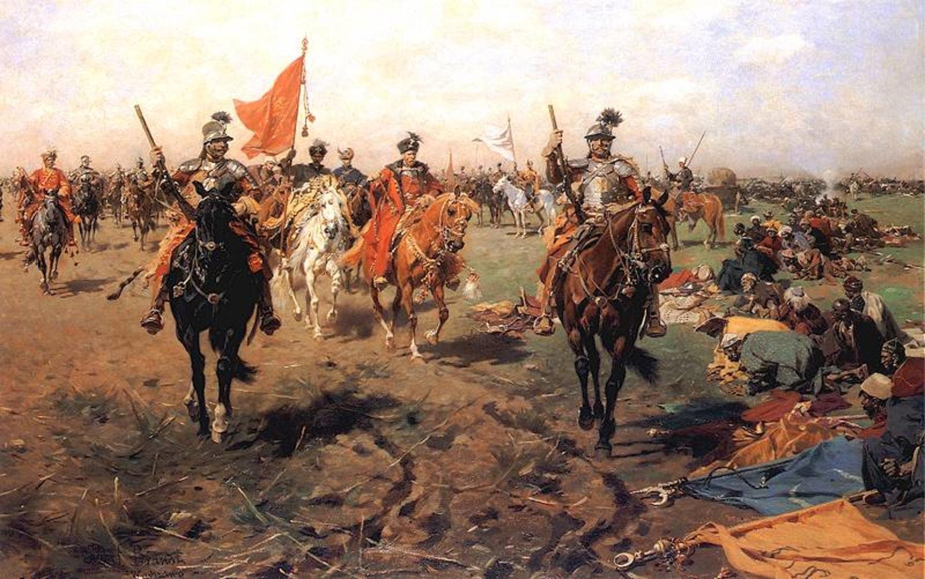 Войска ВКЛ вступили на ливонские земли