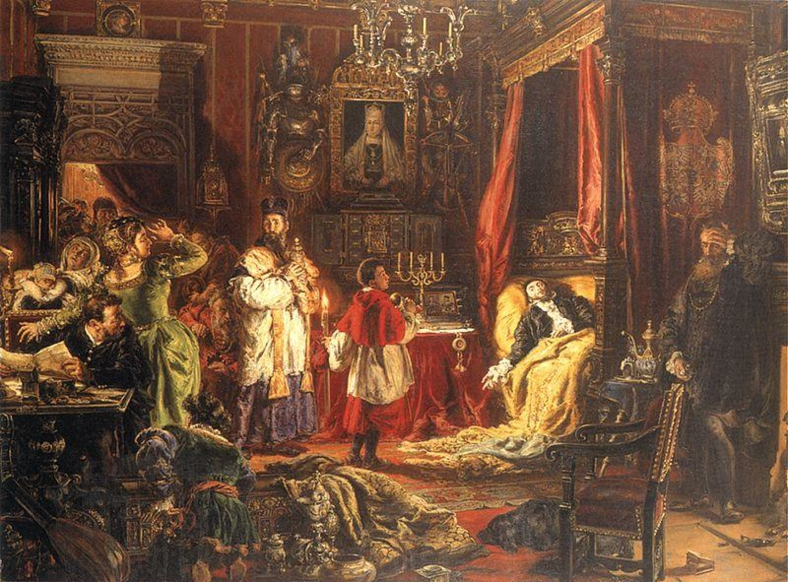 Жигимонт Сигизмунд Второй стал последним великим князем ВКЛ из рода Ягайло