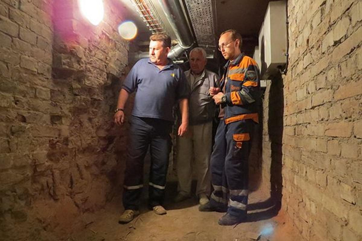 Заложенные подземелья вокзала