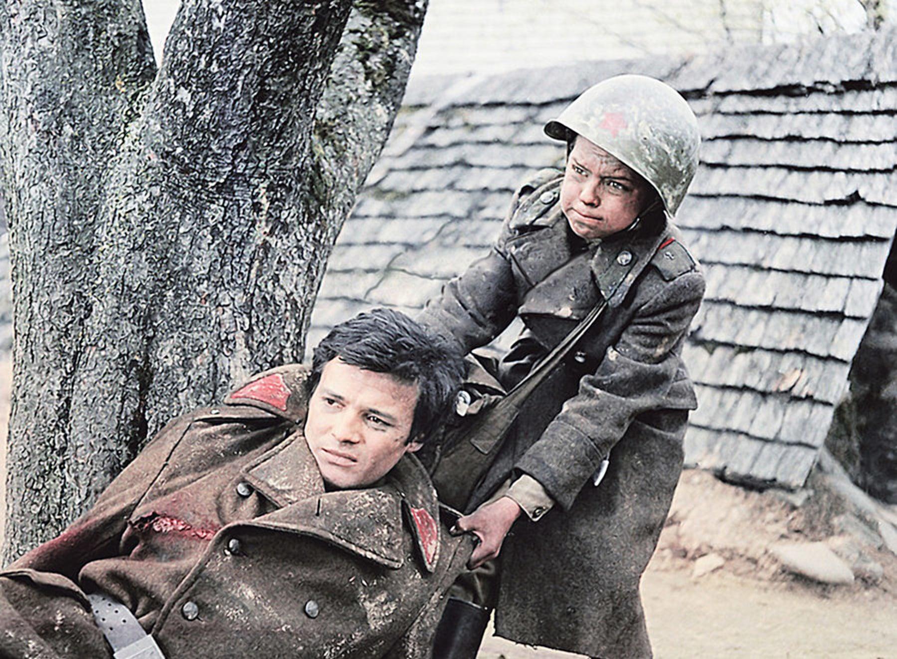 Маленький сержант о детях на войне